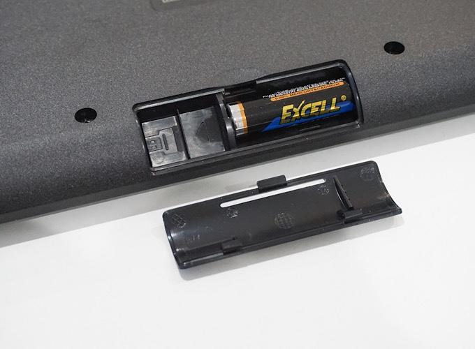 エレコムTK-FDM078TBK電池