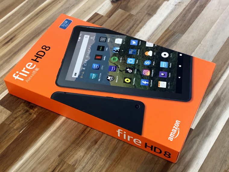 Fire HD 8外箱