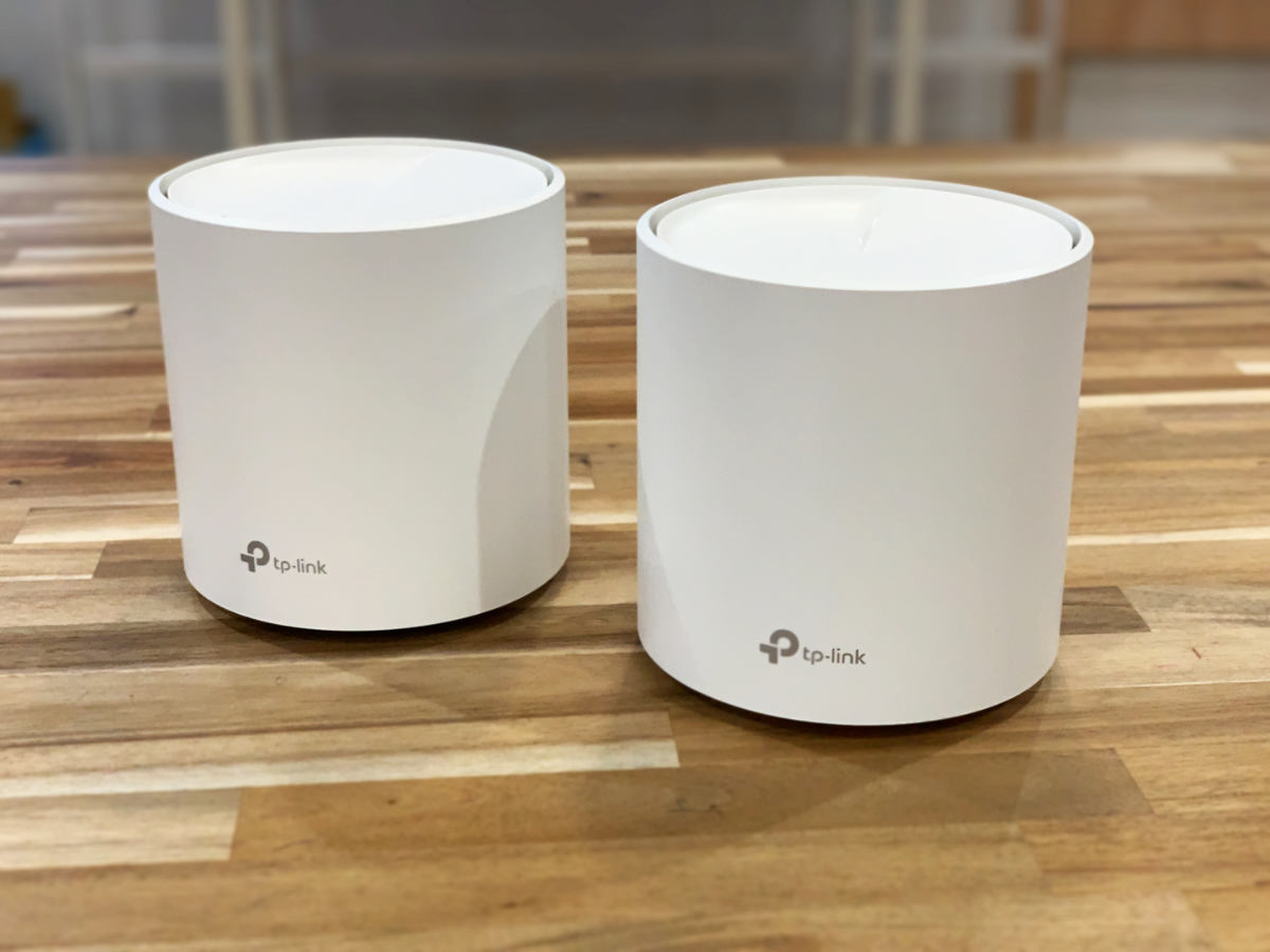 TP-Link DecoX20 Wi-Fiルーター 2台