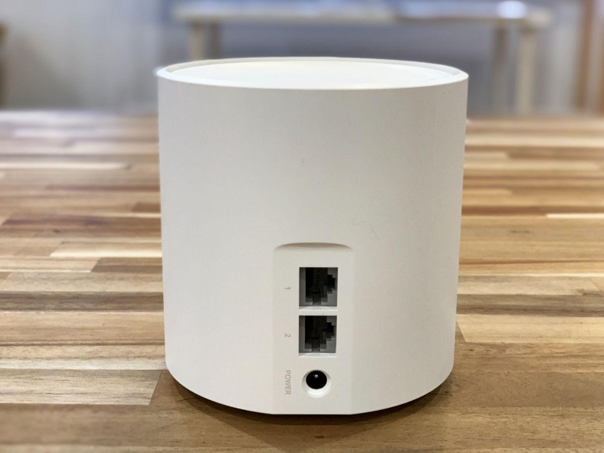 TP-Link DecoX20 Wi-Fiルーター ポート数