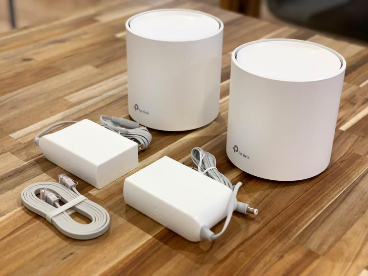 TP-Link DecoX20 Wi-Fiルーター 充電器