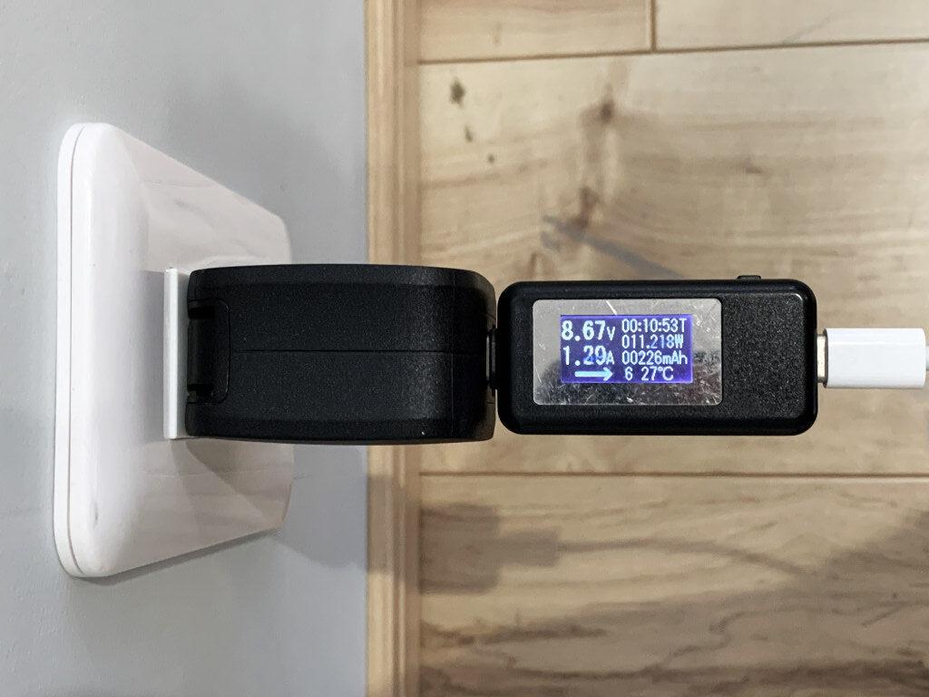 RAVPower RP-PR144とiPhone