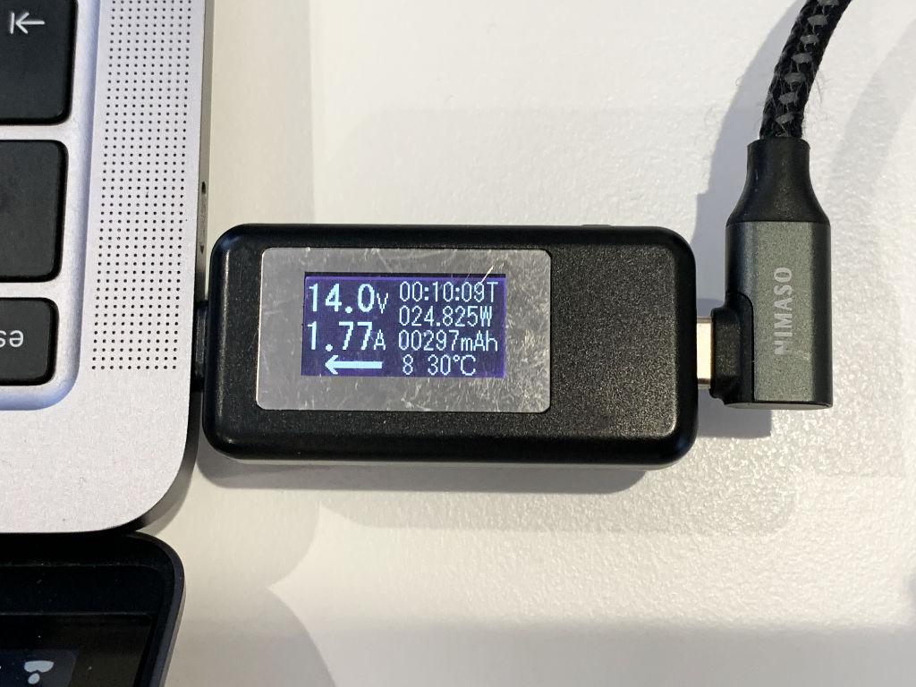 RAVPower RP-PC144とMacBook Air 2020